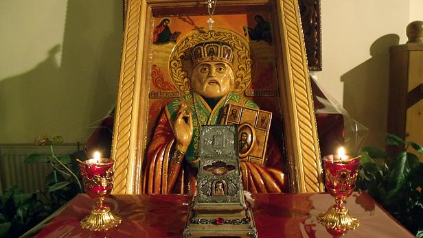 Мощи святого Николая в Одессе