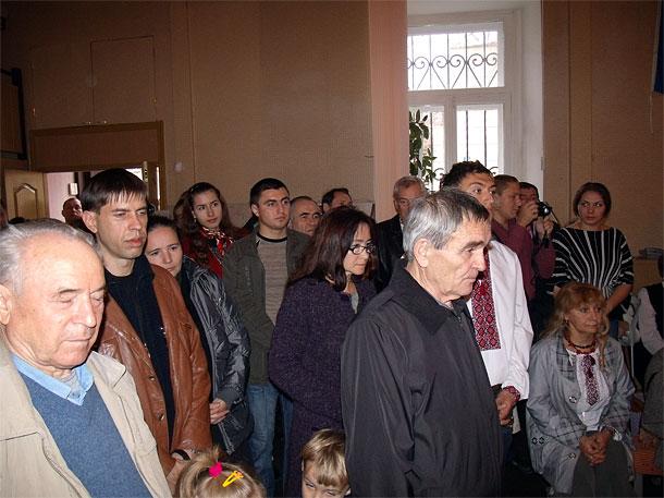 Прихожане церкви